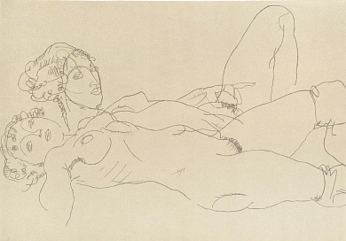 Two Female Reclining Figures